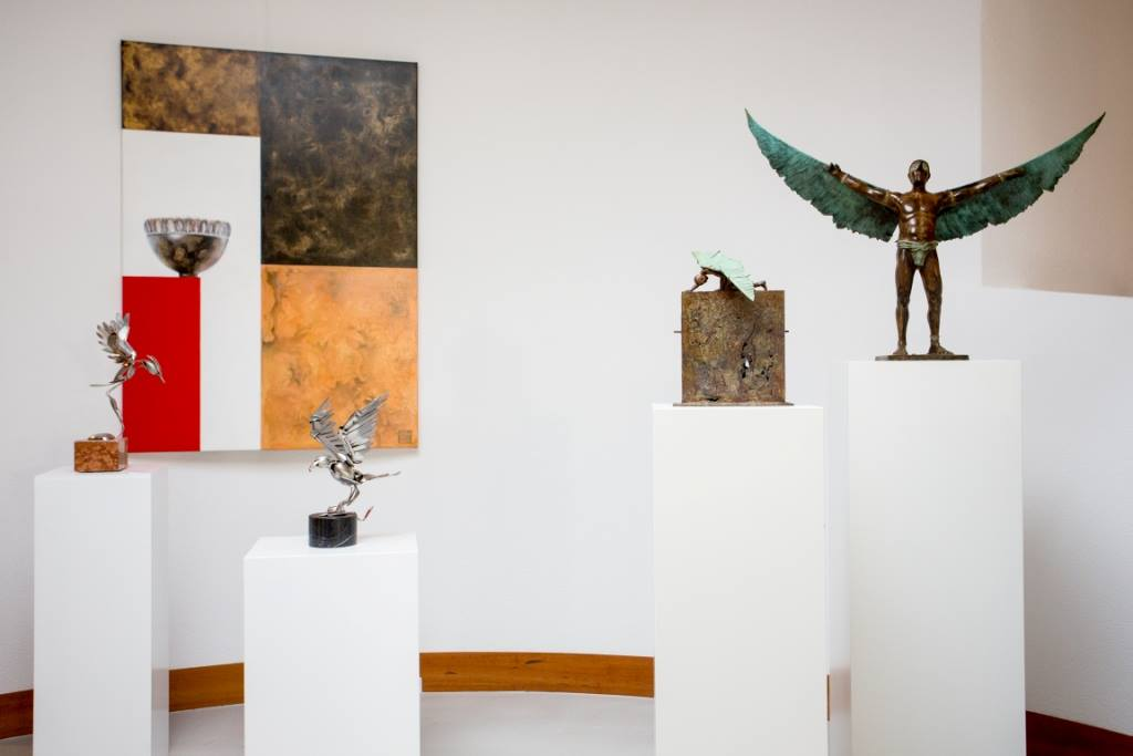 """Sfeer Expositie """"de Vrije Vogels maart & april 2014"""
