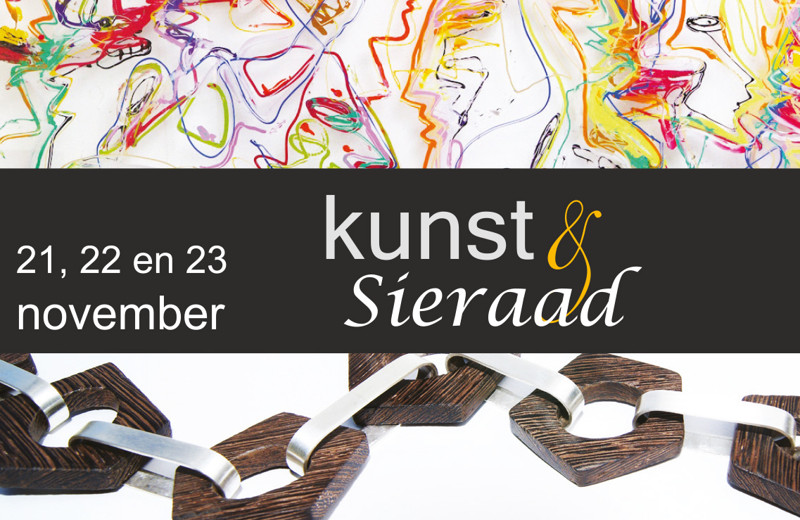 Sfeer KUNST & SIERAAD weekend bij Galerie Sille