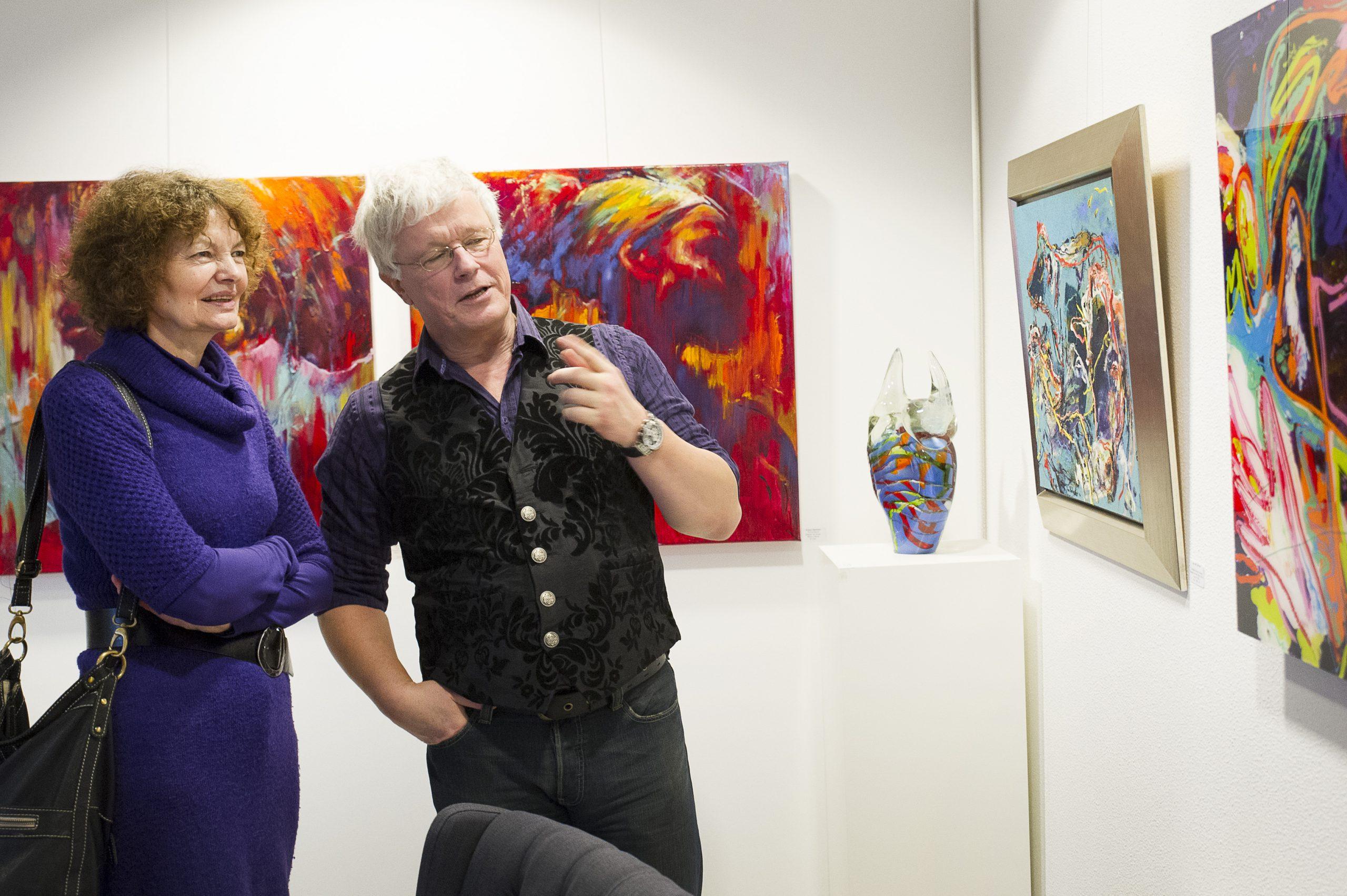 Sfeer Expositie 'PUIK' 2014 bij Sille gallery