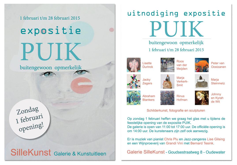 Expositie 'PUIK' 2014 bij Sille gallery