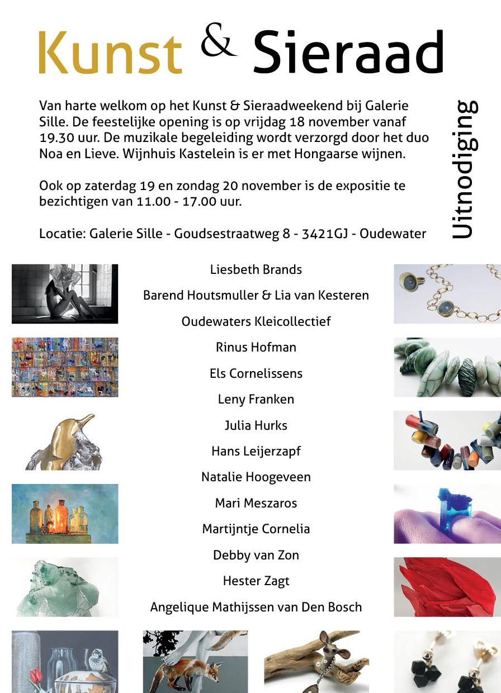 Sfeer Kunst & Sieraad 18, 19 en 20 november!