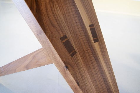 Sfeer Design tafel Sandor Simon bij Galerie Sille