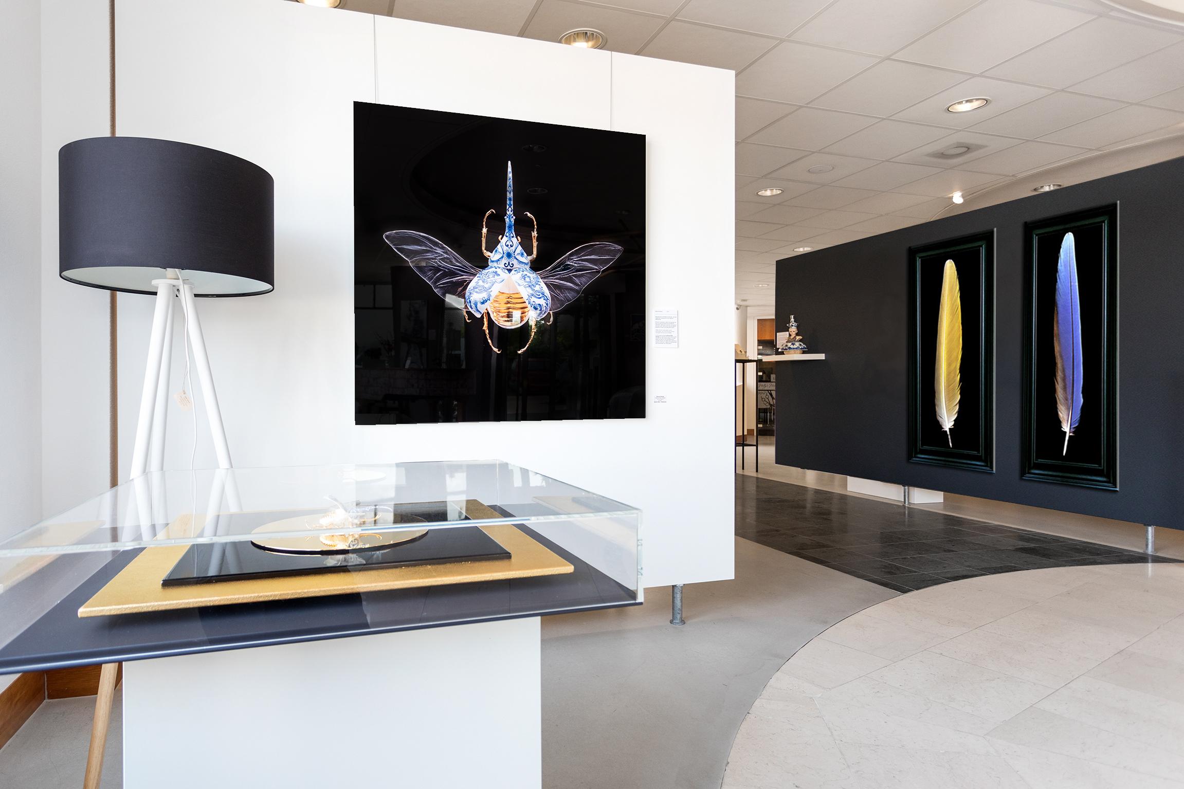 Kunst: Looking for a big painting? van kunstenaar Gerben TEST De  Tester