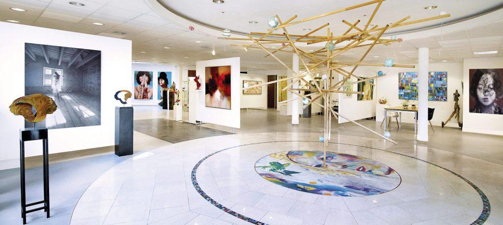 Grote galerie en kunstuitleen in Oudewater