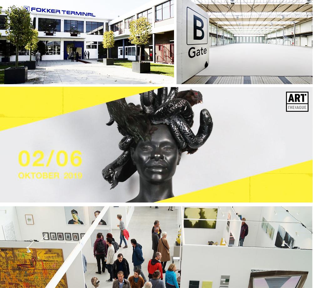 Sfeer Sille Select met Jenny Boot en Hans Withoos op Art the Hague