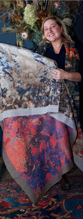 kunstwerk Textielkunst van Irene van Vliet