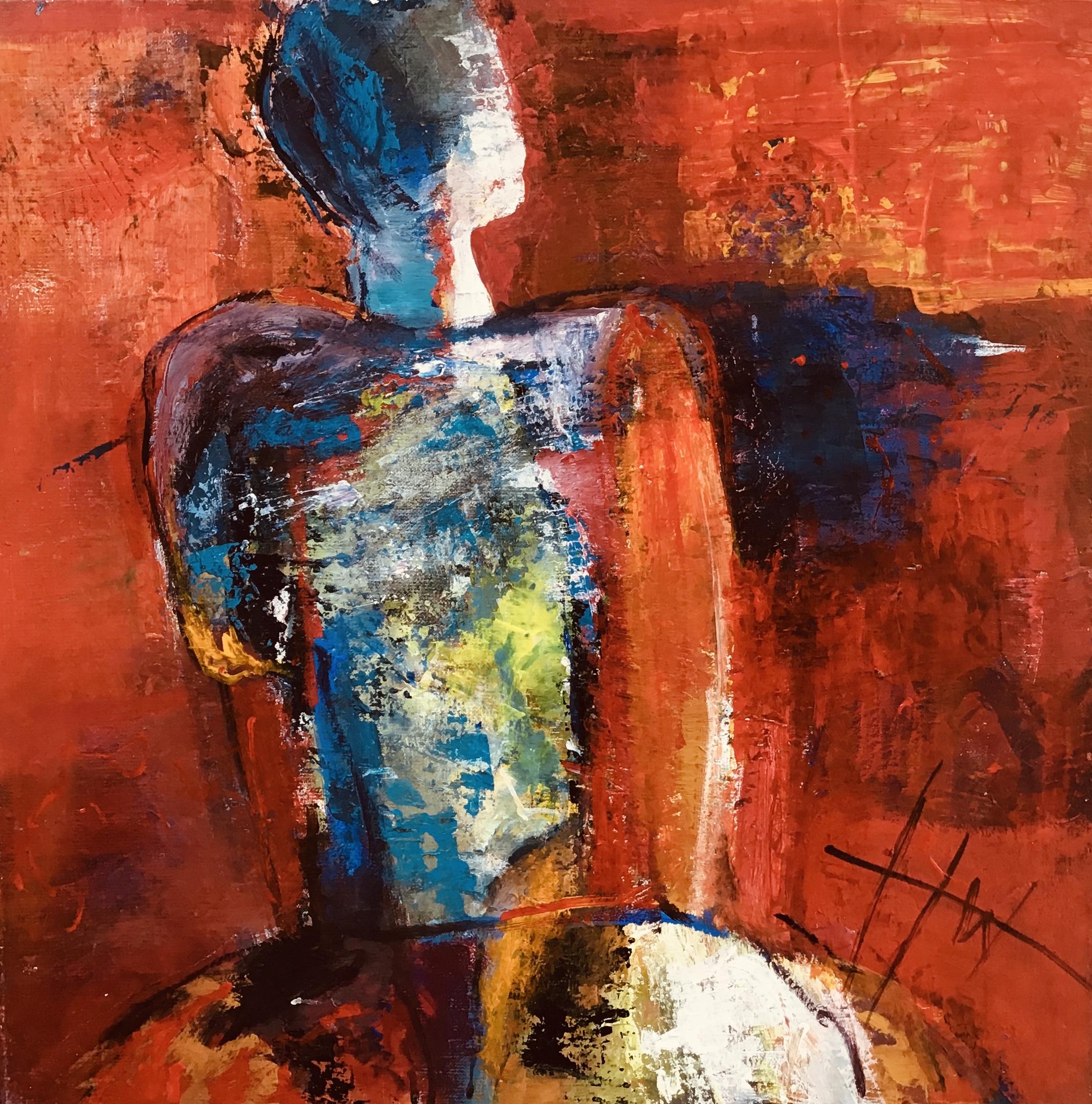 Kunst: afwachting van kunstenaar Heleen Wilke