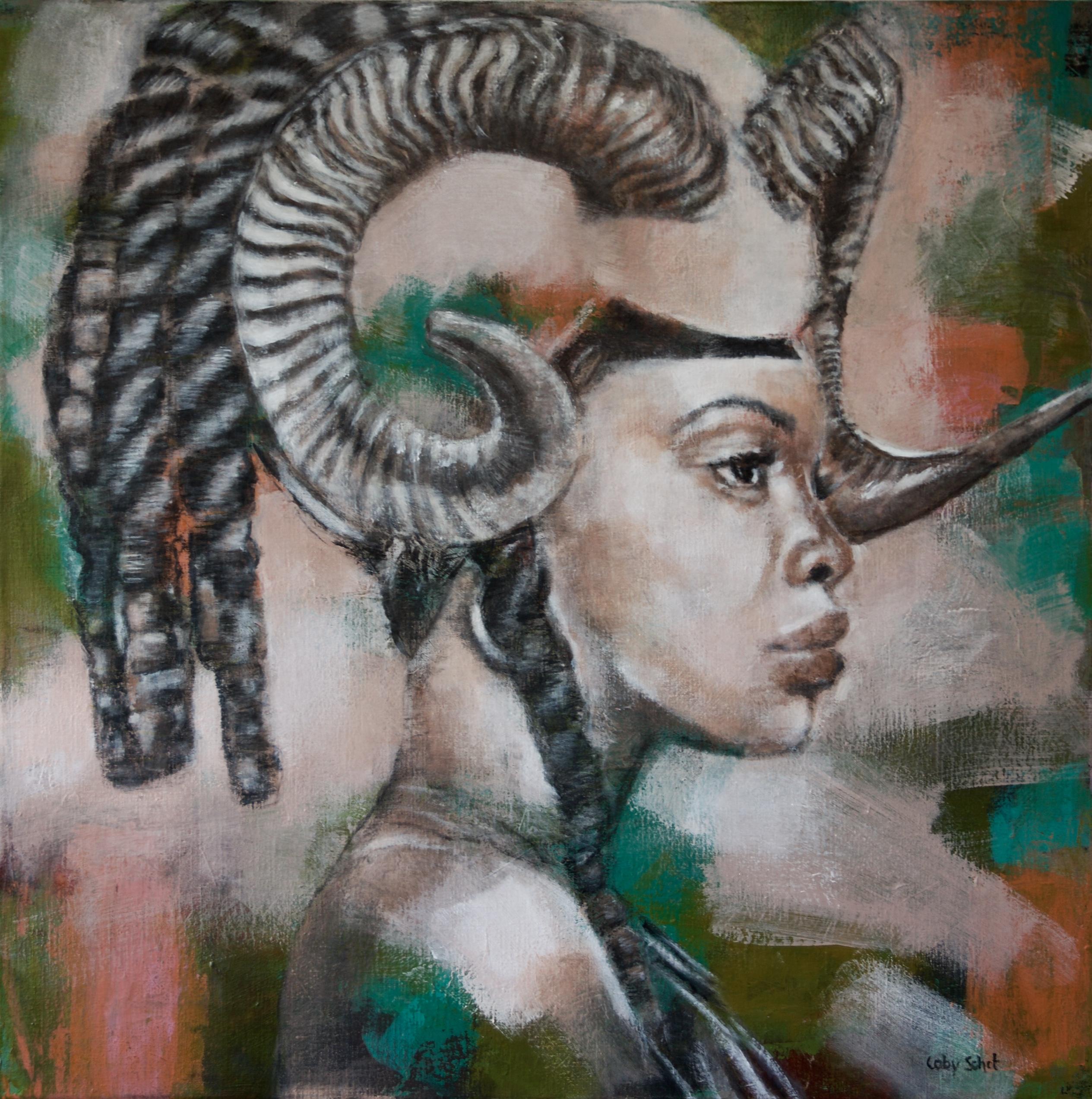 Kunst: Amazone van kunstenaar Coby Schot