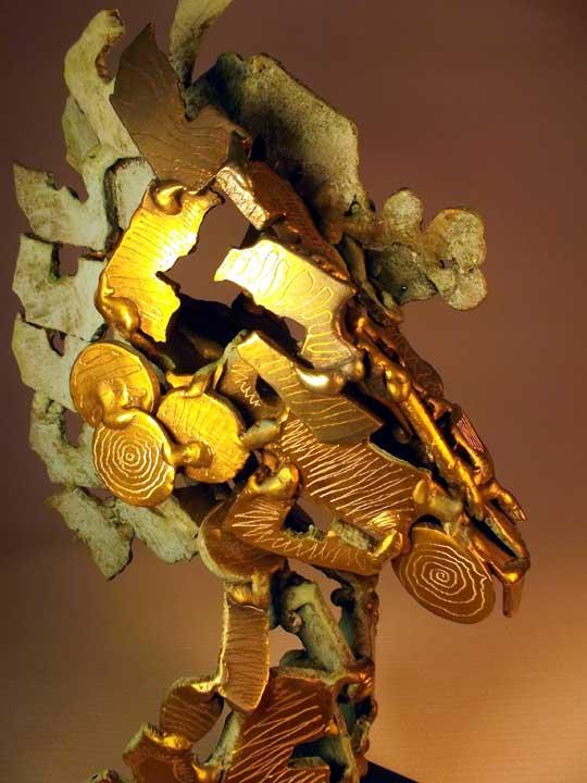 Kunst: Caballo Conquistador van kunstenaar Eric van Wattum