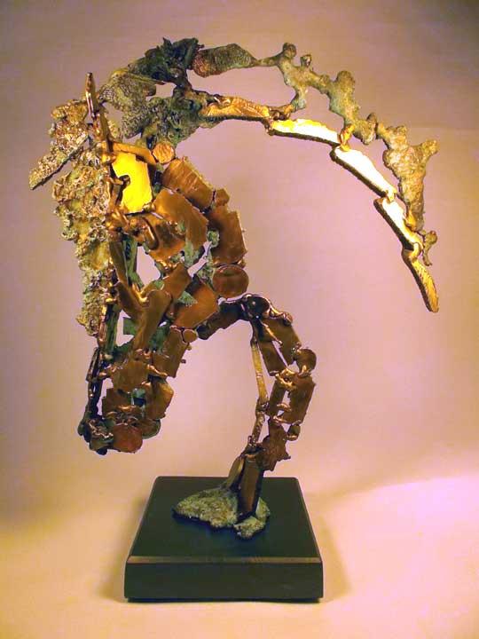 Kunst: Caballo Virtuoso van kunstenaar Eric van Wattum