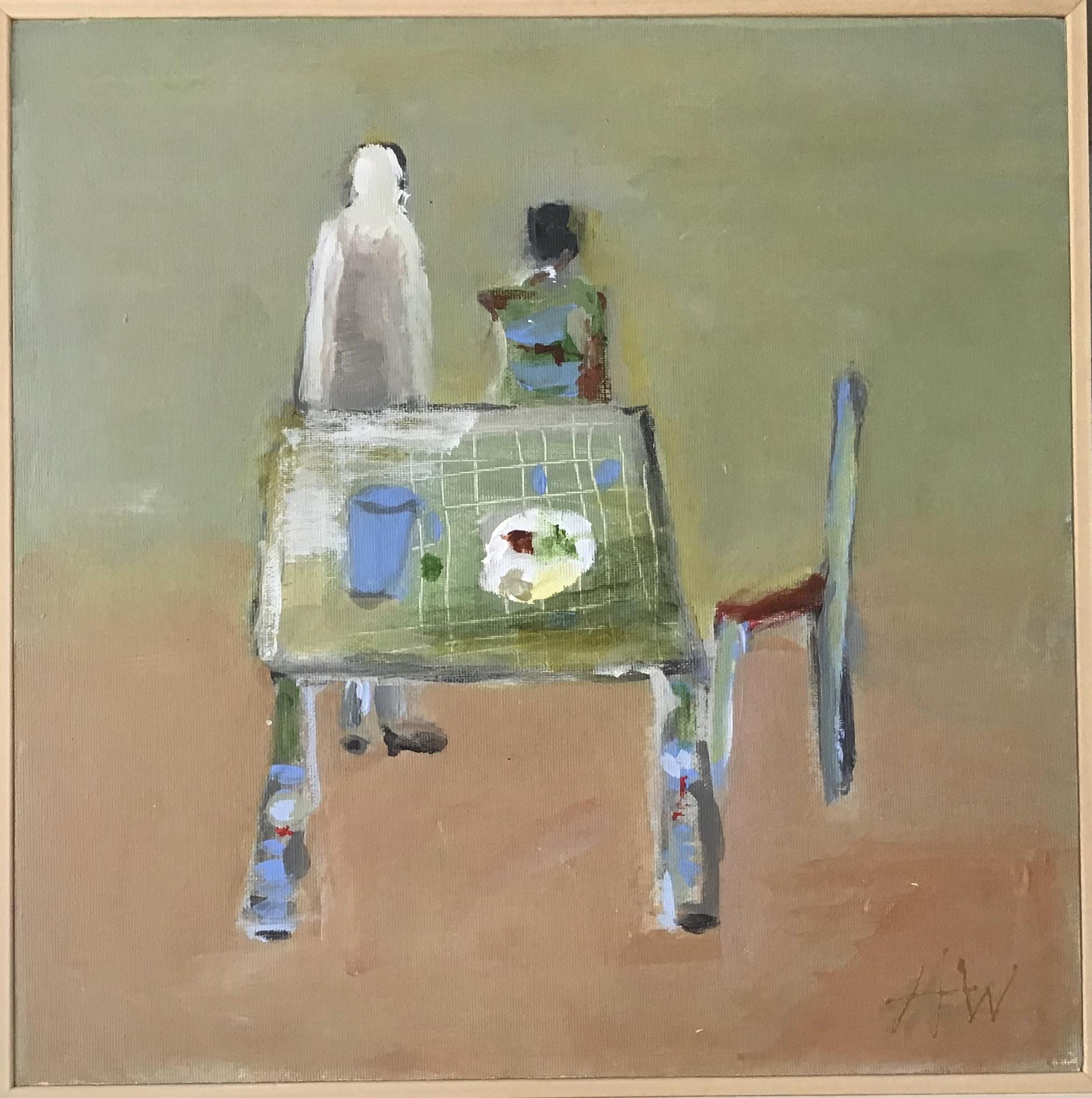 Kunst: de lege stoel van kunstenaar Heleen Wilke
