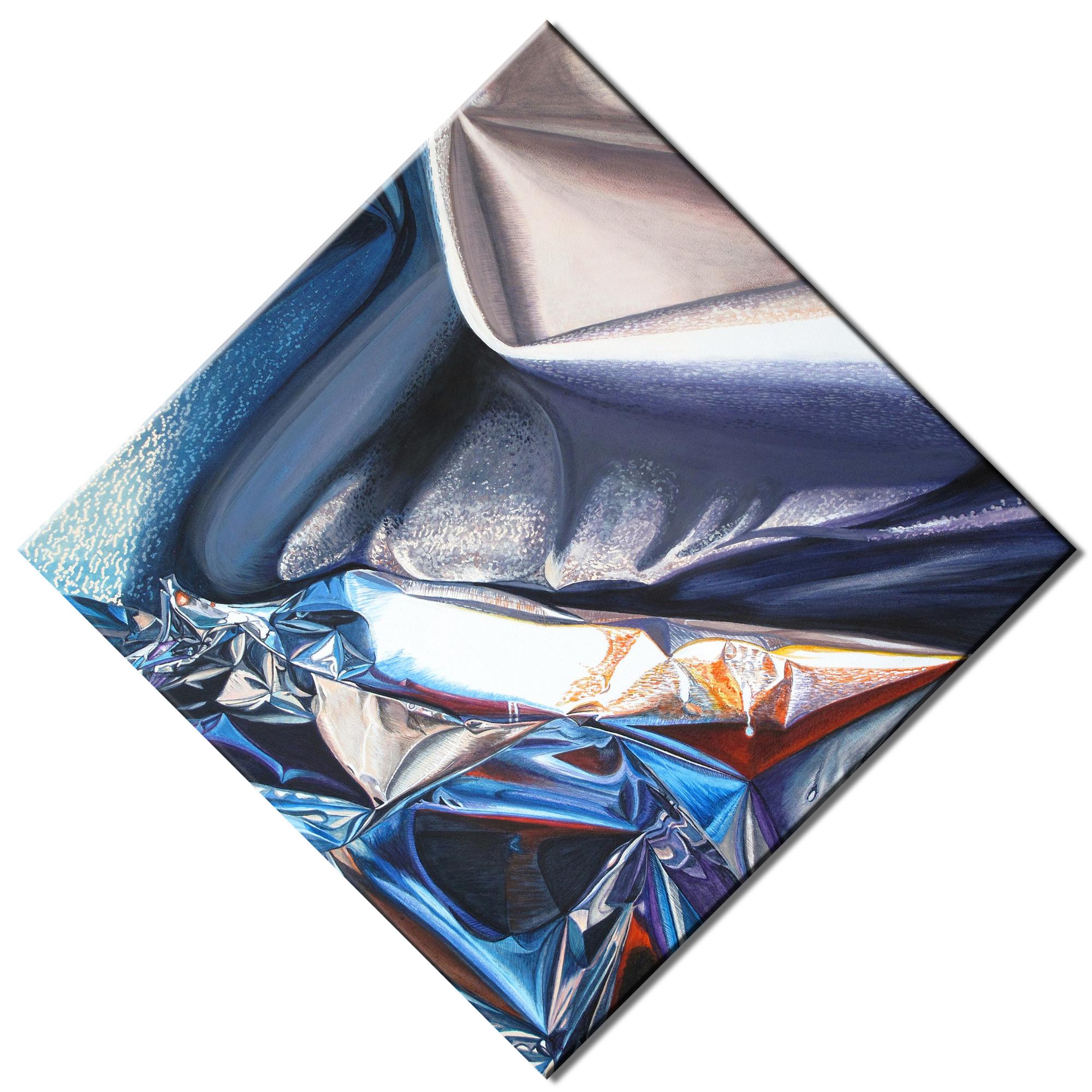 Kunst: Distorted Motion van kunstenaar Lidy Scholten