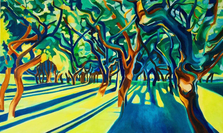 Kunst: Last light van kunstenaar Sanneke S.I. Griepink