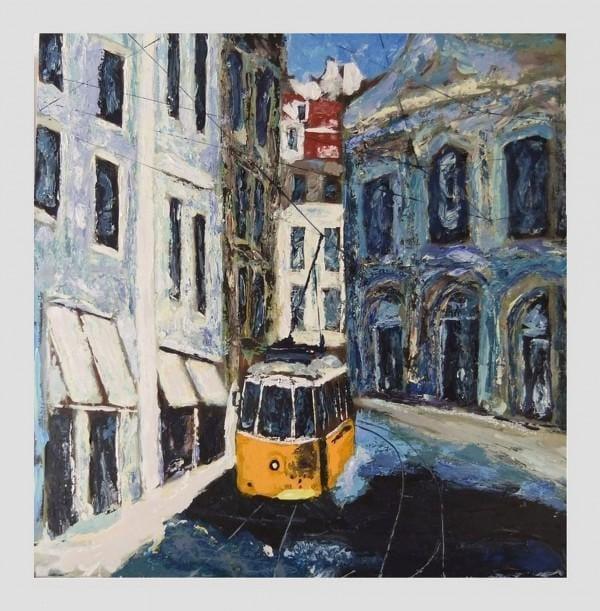 Kunst: Lissabon van kunstenaar Jan Braber