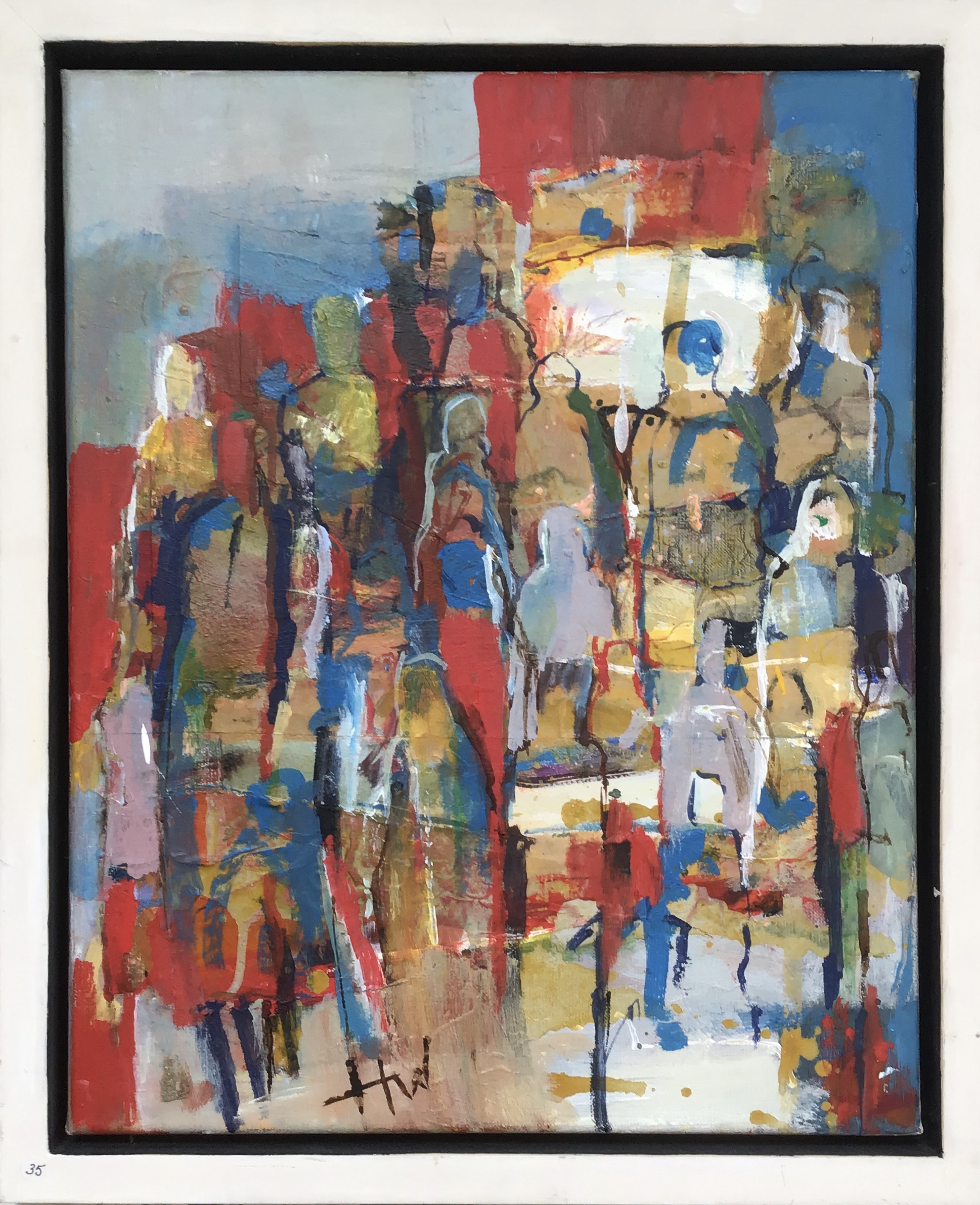 Kunst: massaal van kunstenaar Heleen Wilke