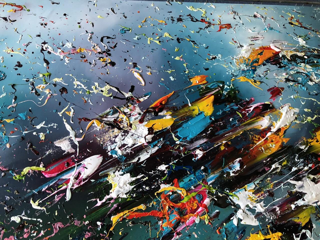 Kunst: New Galaxy van kunstenaar Gena n Gena