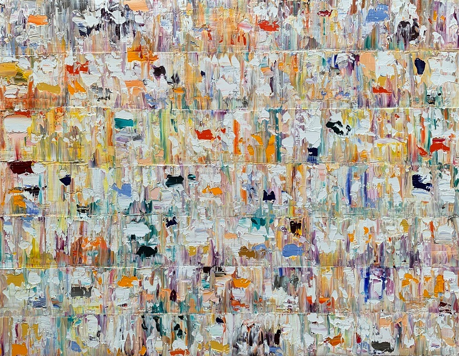 Kunst: Apolima,  Pacific van kunstenaar Rinus Hofman