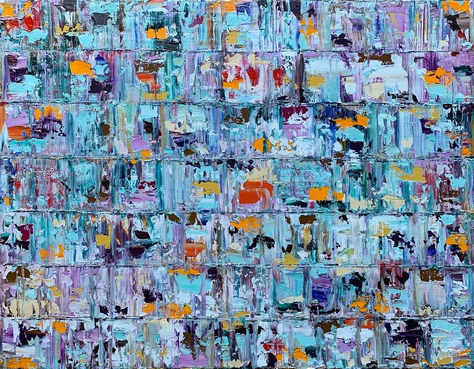 Kunst: Tetiaroa,  Pacific van kunstenaar Rinus Hofman