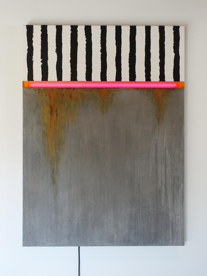 Kunst: Perron 1 van kunstenaar Geeske van de Molengraft