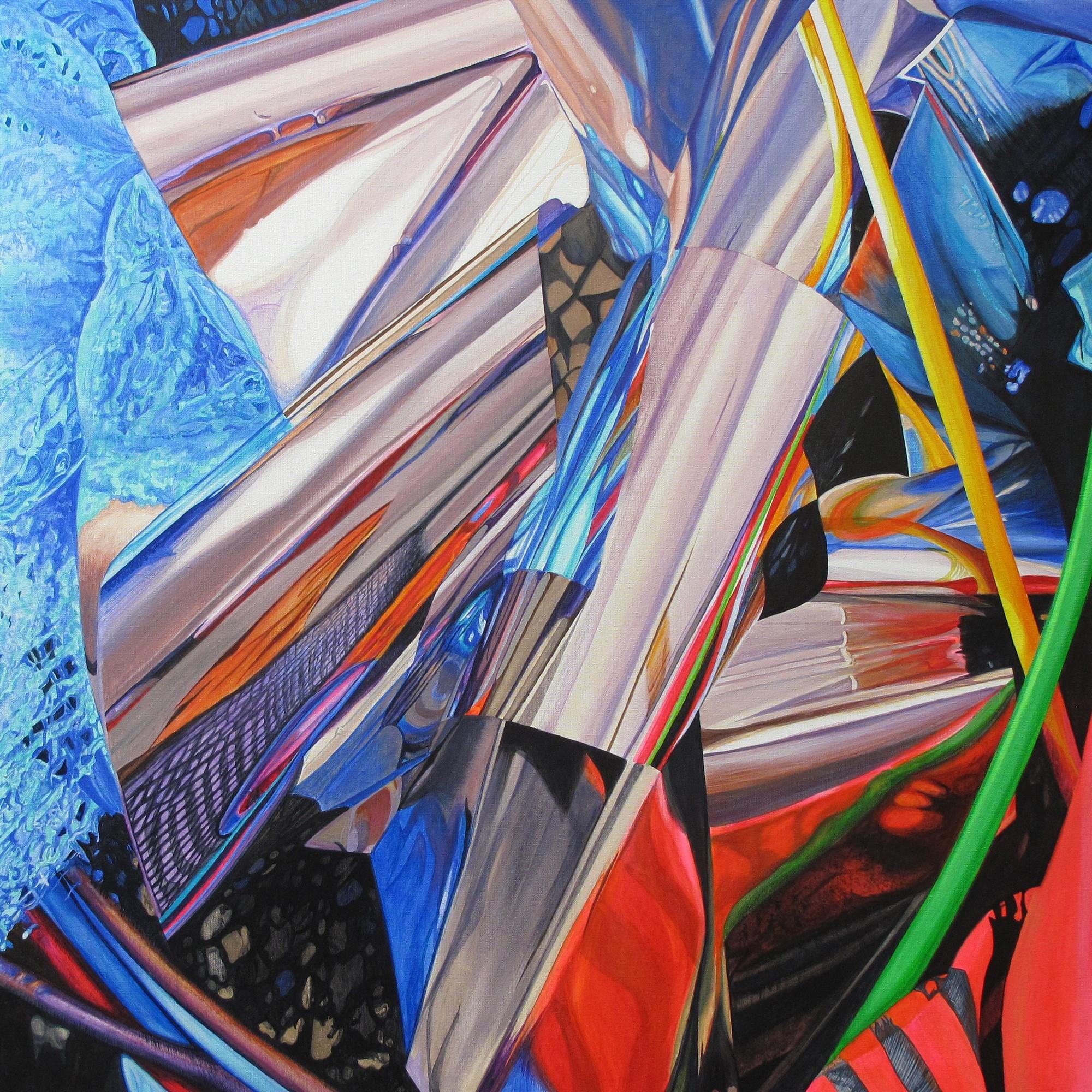 Kunst: Reflecting Movements van kunstenaar Lidy Scholten