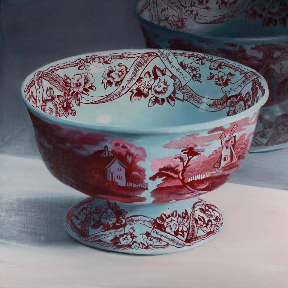 Kunst: X'ian – Ceramic Bowl van kunstenaar Minke Buikema
