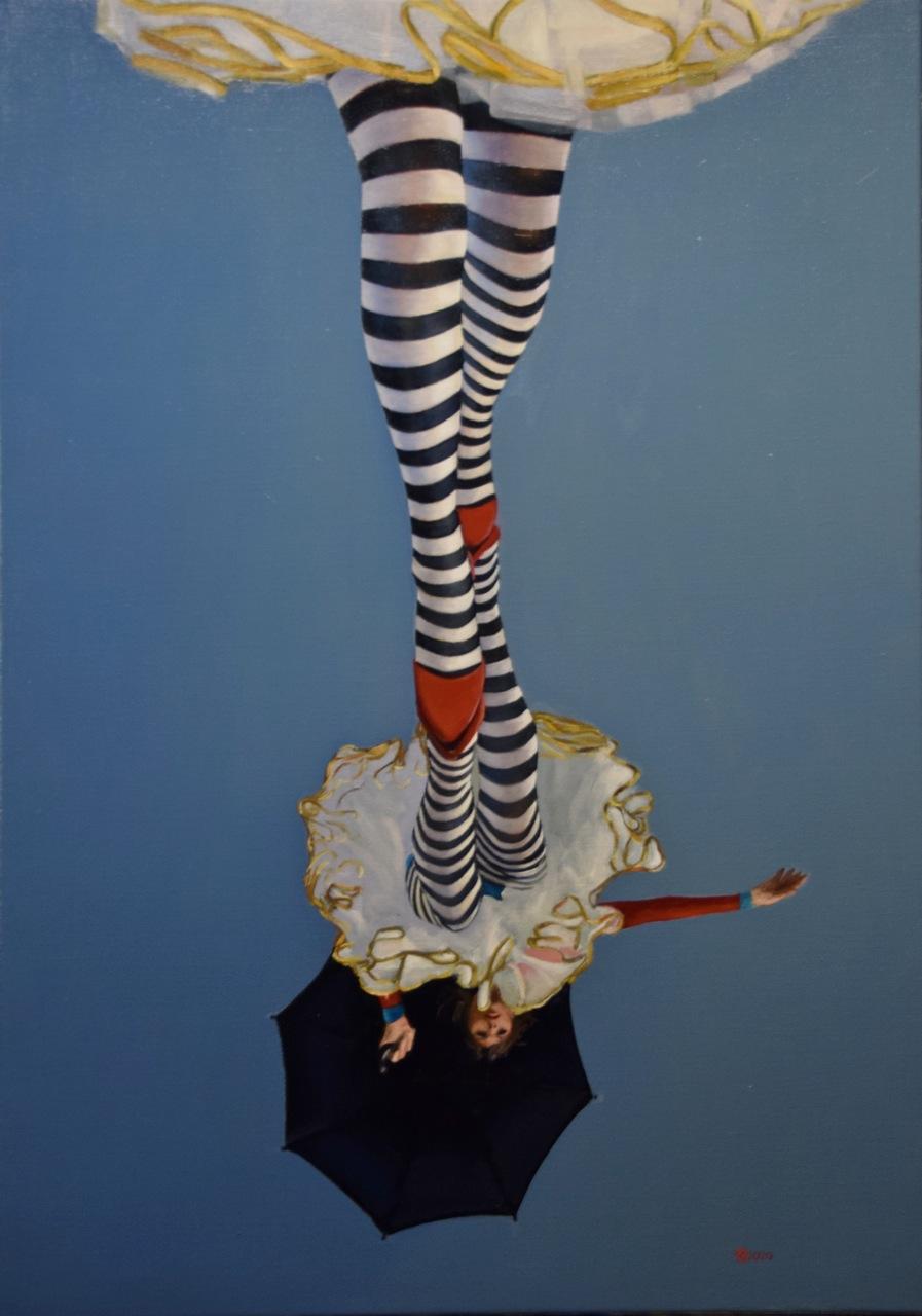 Kunst: Skywalk van kunstenaar Roeland van der Kley