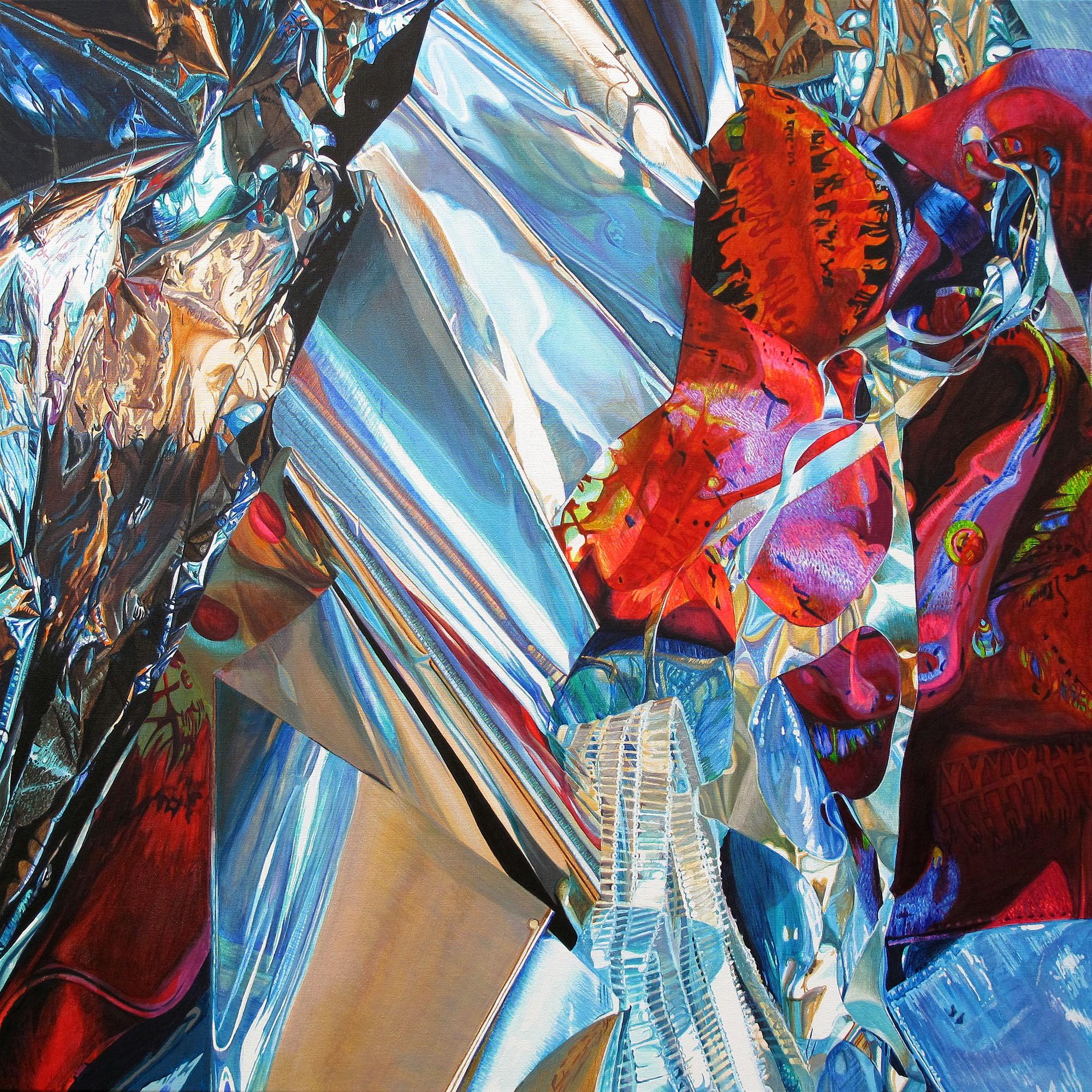 Kunst: Spectral Meltdown van kunstenaar Lidy Scholten