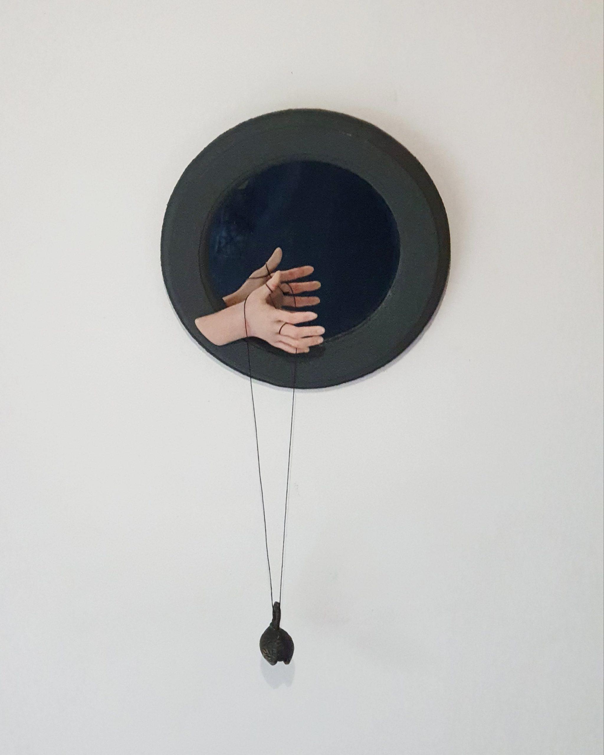 Kunst: Spiegel & bel van kunstenaar Saskia Hoeboer