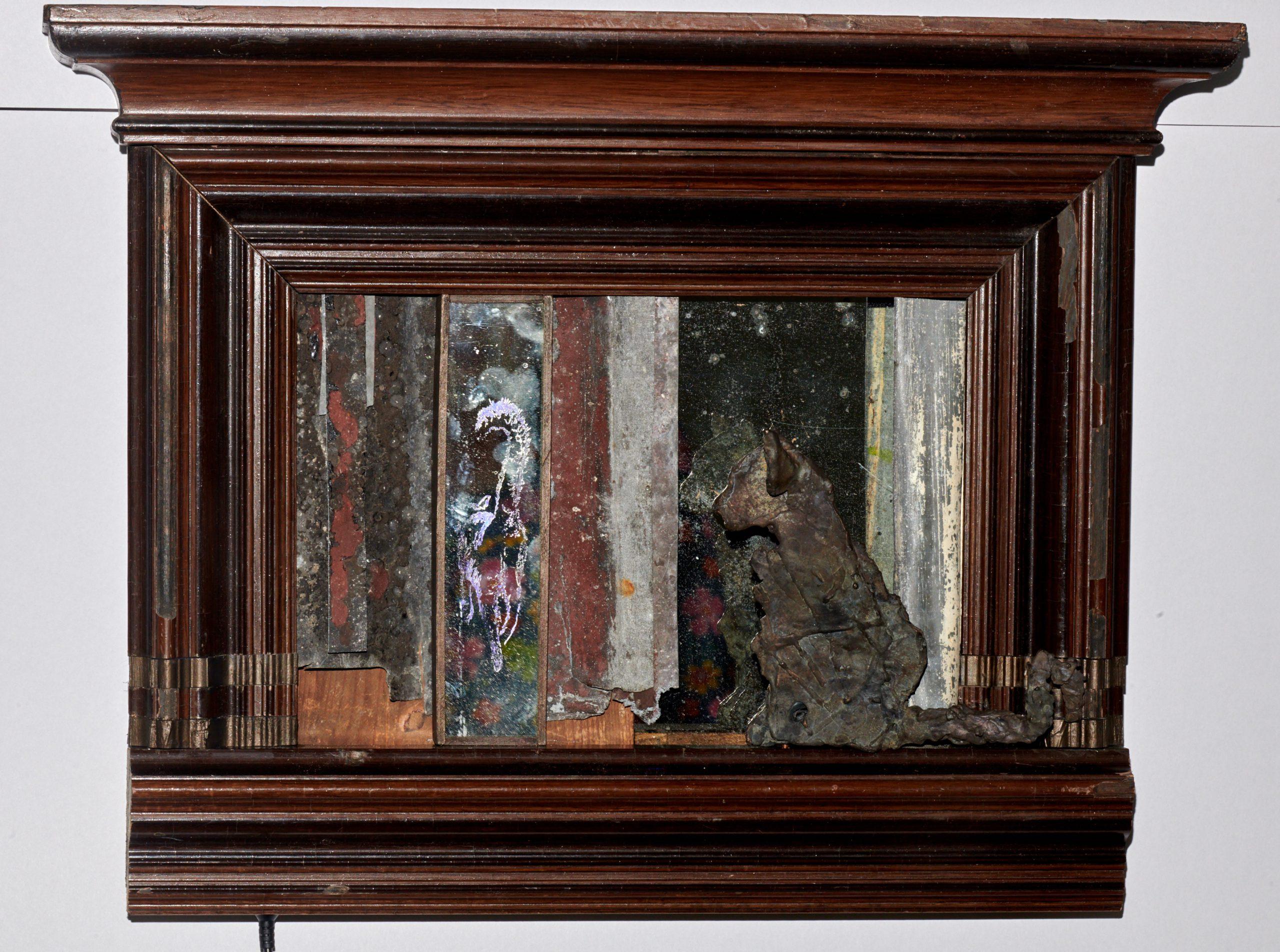 Kunst: Spiegelbeeld 2 van kunstenaar Edith Stoel