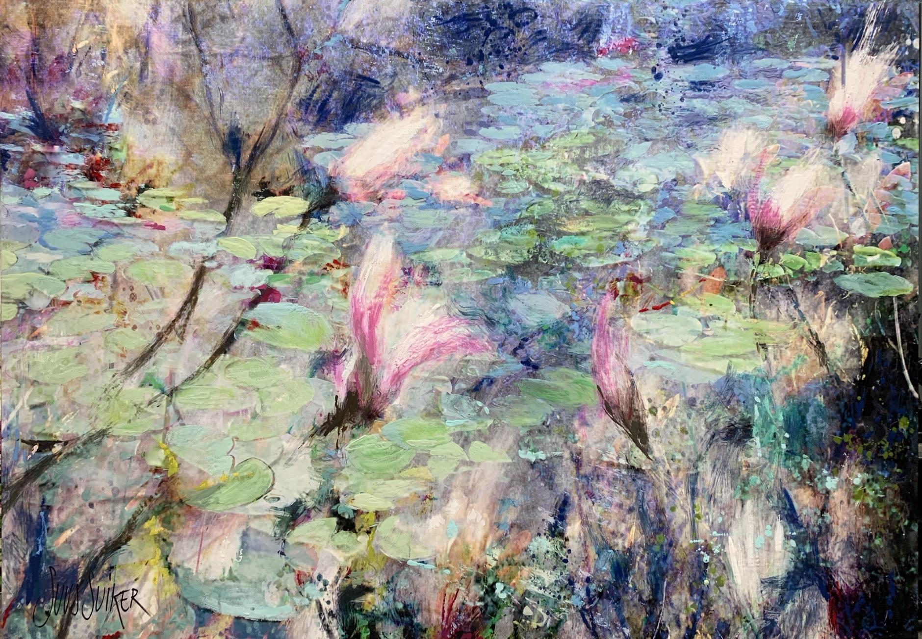 Kunst: Symbiose 140-09 van kunstenaar Suus Suiker