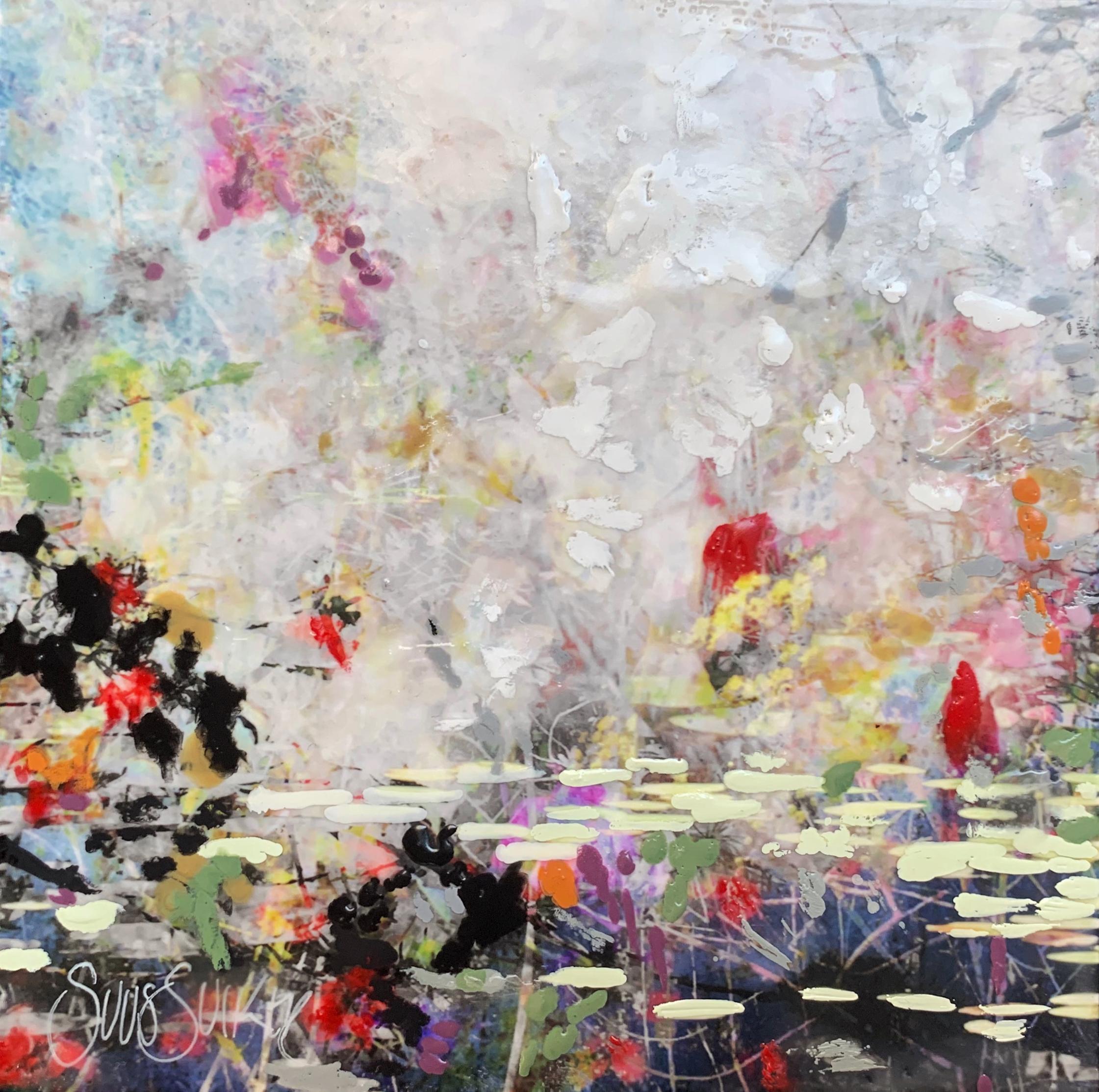 Kunst: Symbiose 15-07 van kunstenaar Suus Suiker