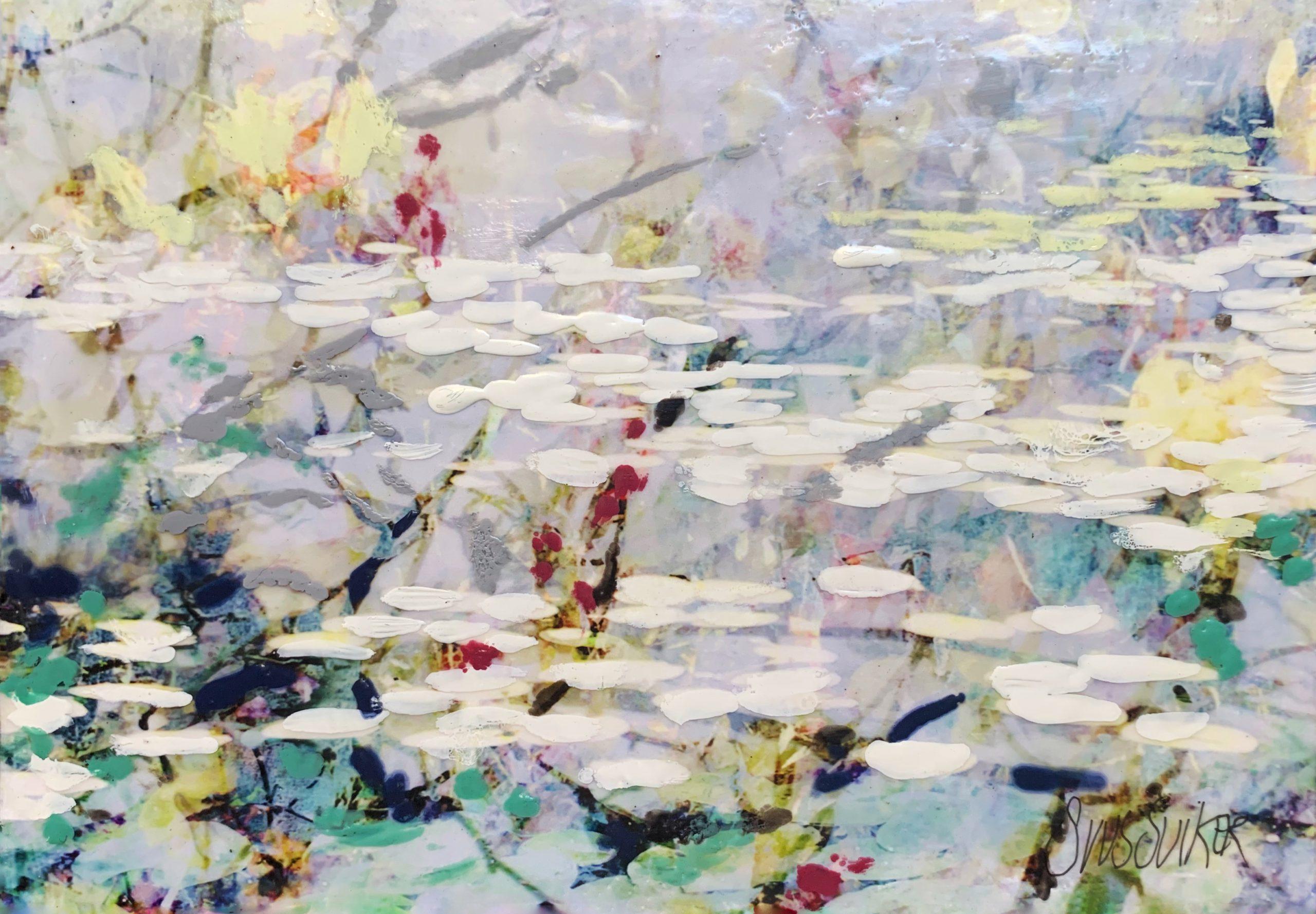 Kunst: Symbiose 20-08 van kunstenaar Suus Suiker
