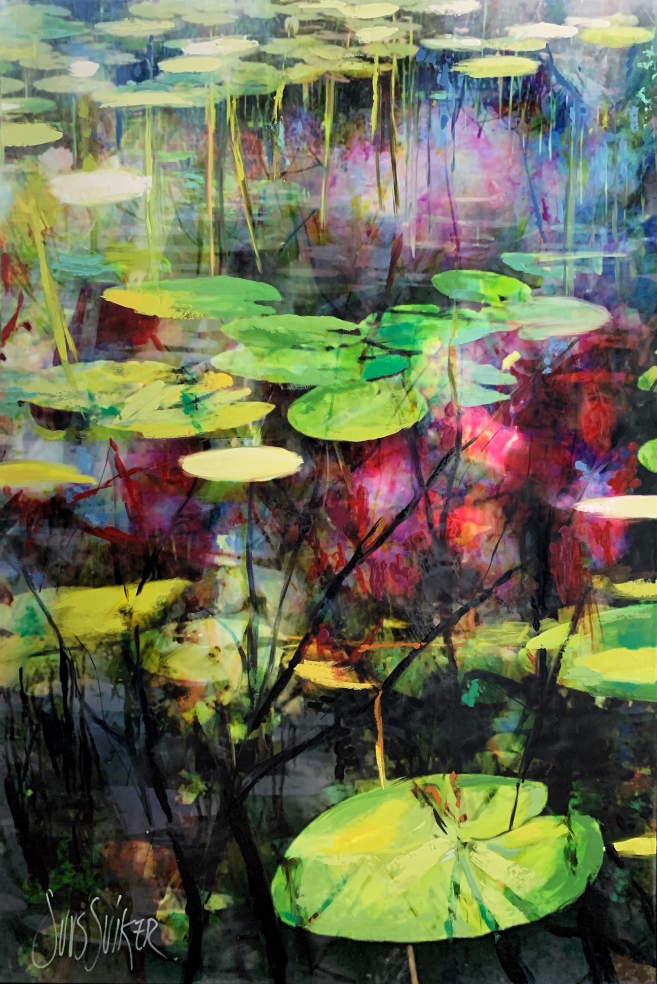 Kunst: Symbiose 90-09 van kunstenaar Suus Suiker