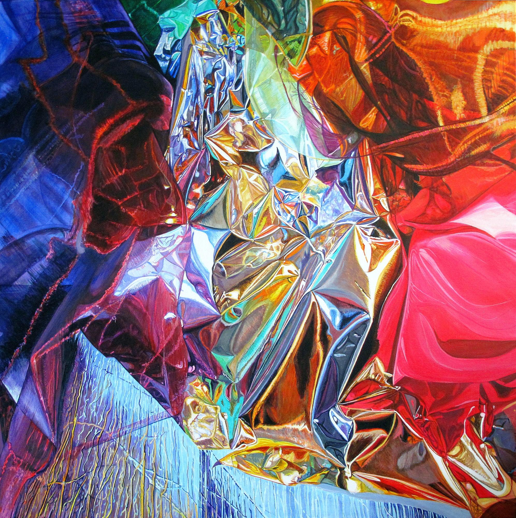Kunst: Ultimate Challenge van kunstenaar Lidy Scholten