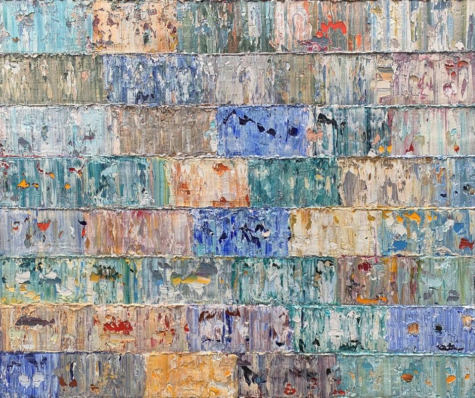 Kunst: Utupua, Pacific van kunstenaar Rinus Hofman