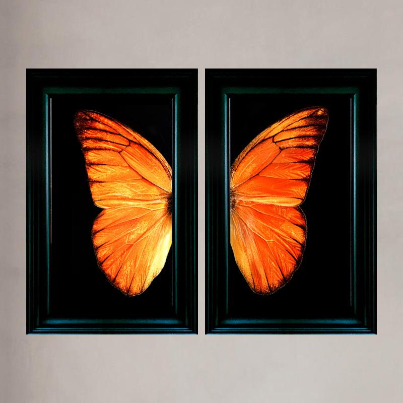 Kunst: Vlindertje van Oranje van kunstenaar Anouk van Tetering (Anoukart)