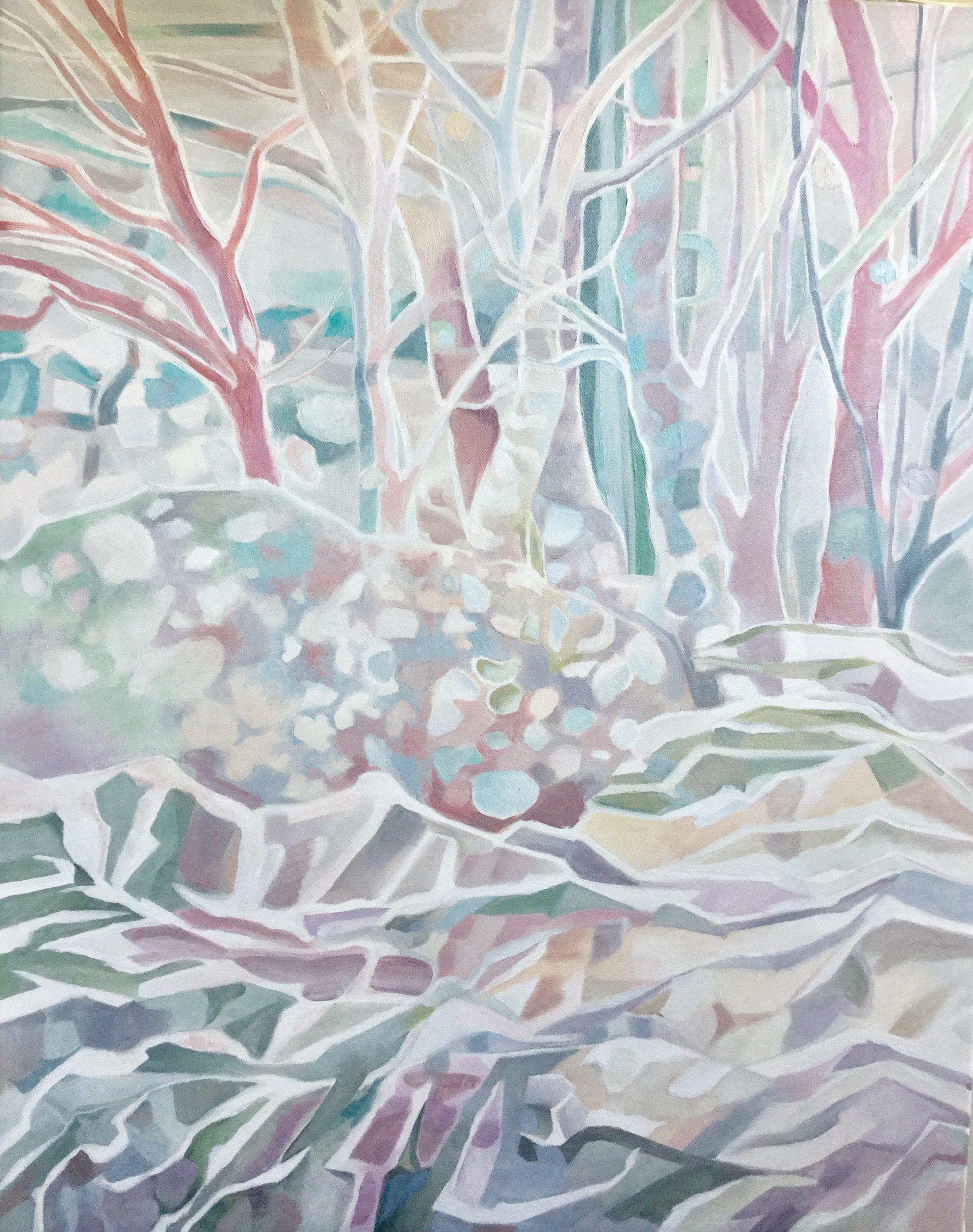 Kunst: Winterforrest, Fading memories van kunstenaar Sanneke S.I. Griepink