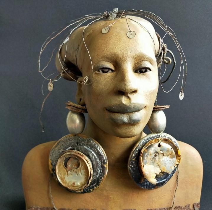 Kunst: Zahra – Bloesem van kunstenaar Lilian Wessels