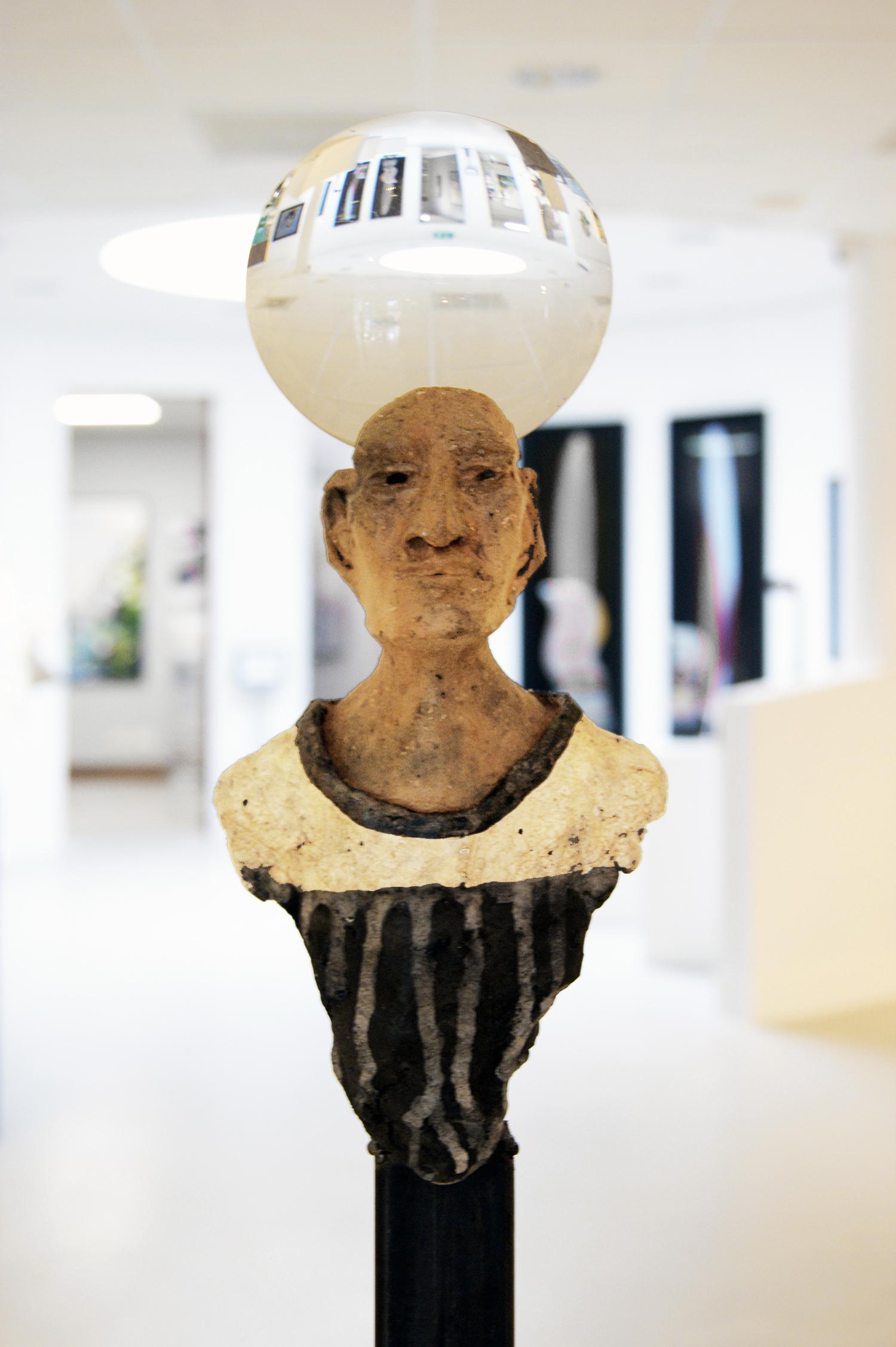 Kunst: De wereld op zijn kop I van kunstenaar Jan Verschueren