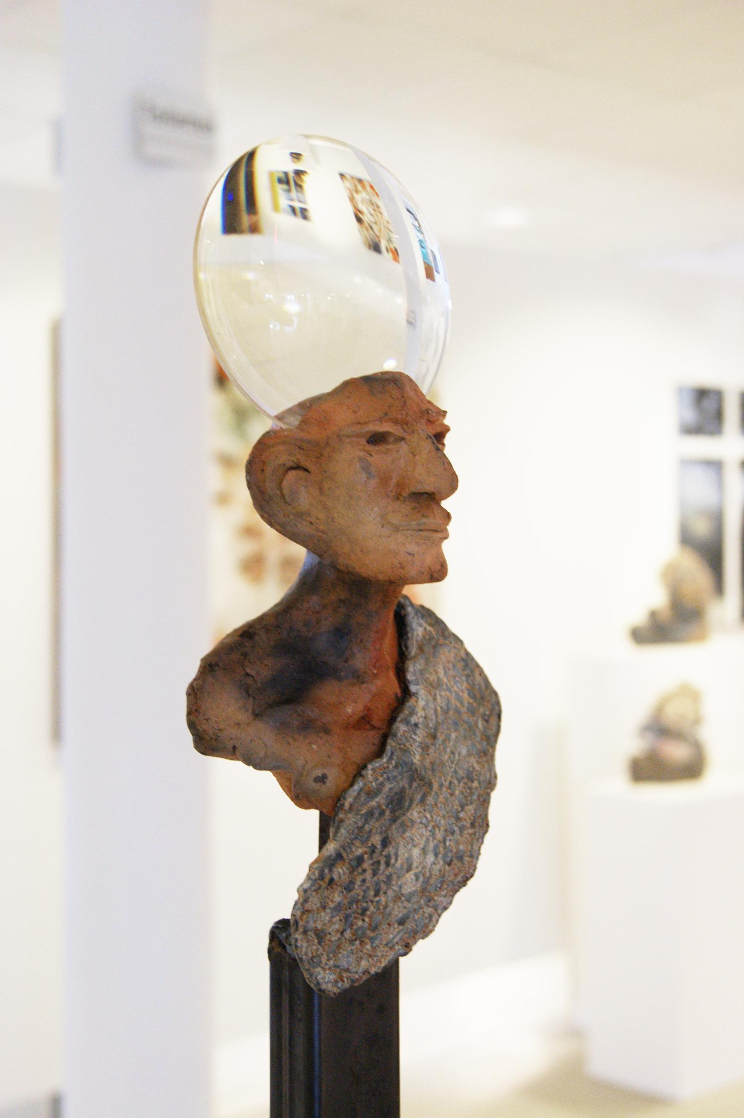 Kunst: De wereld op zijn kop II van kunstenaar Jan Verschueren