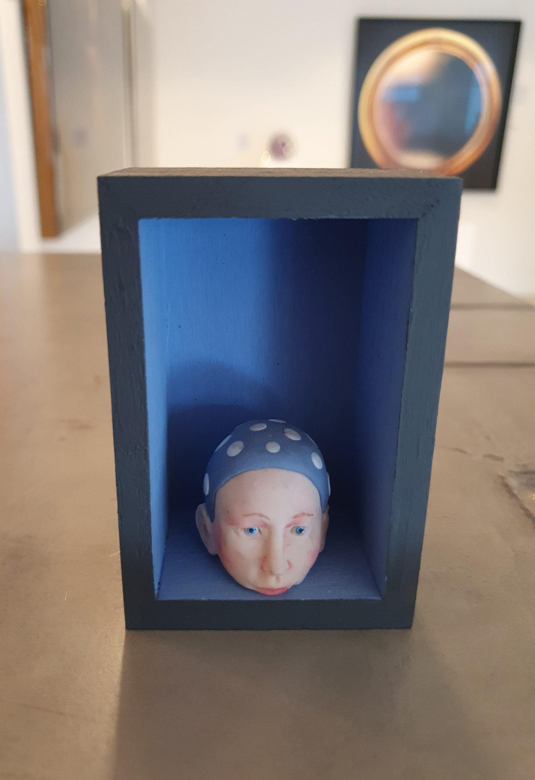 Kunst: Het hoofd boven water houden 1 van kunstenaar Saskia Hoeboer