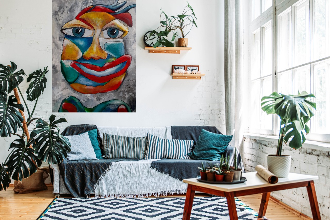 Kunst: High there van kunstenaar Carla Broeckx