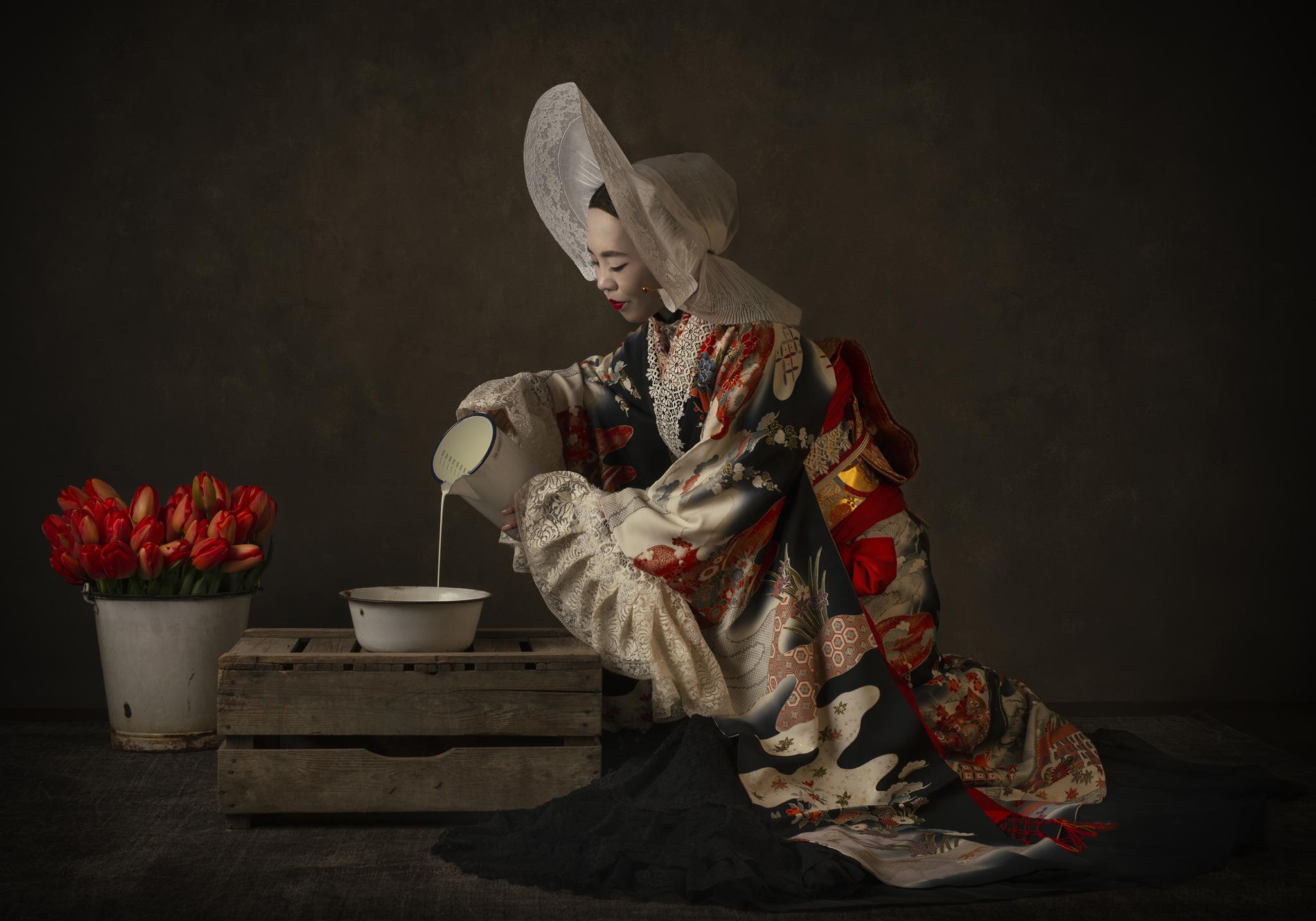 Kunst: Hollandse Nieuwe: Japan II van kunstenaar Jackie B