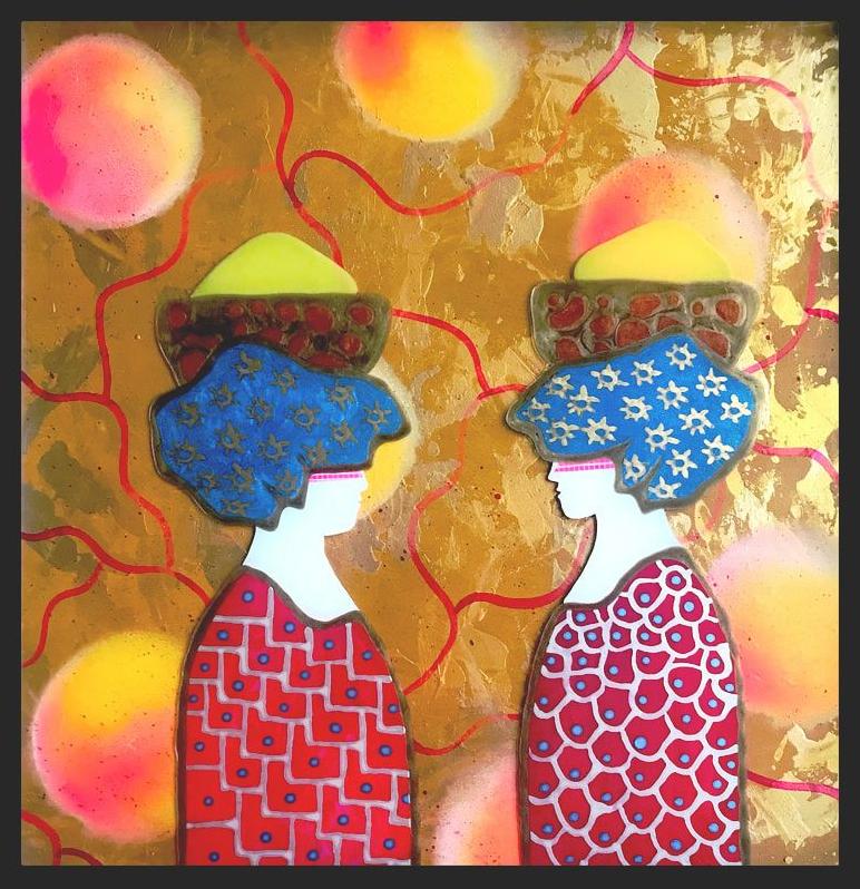Kunst: Il Giorno del Mercato van kunstenaar Beddru Beddru