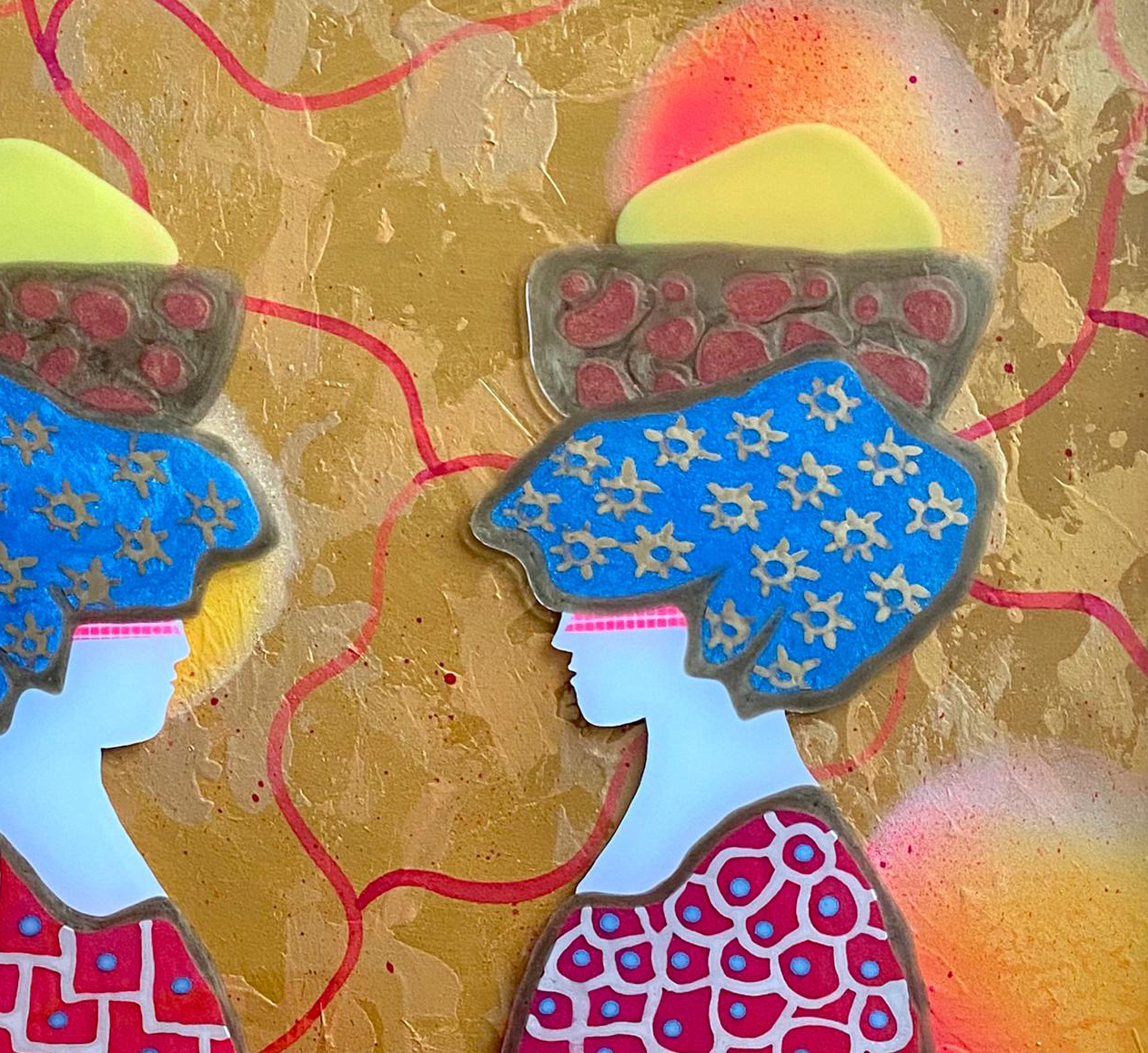 Kunst: Il Giorno del Mercato van kunstenaar  Beddru