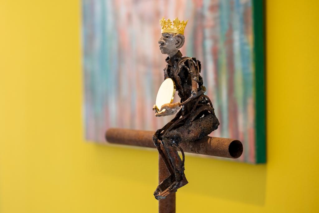 Kunst: Imagina una vida sin corona van kunstenaar Jan Verschueren