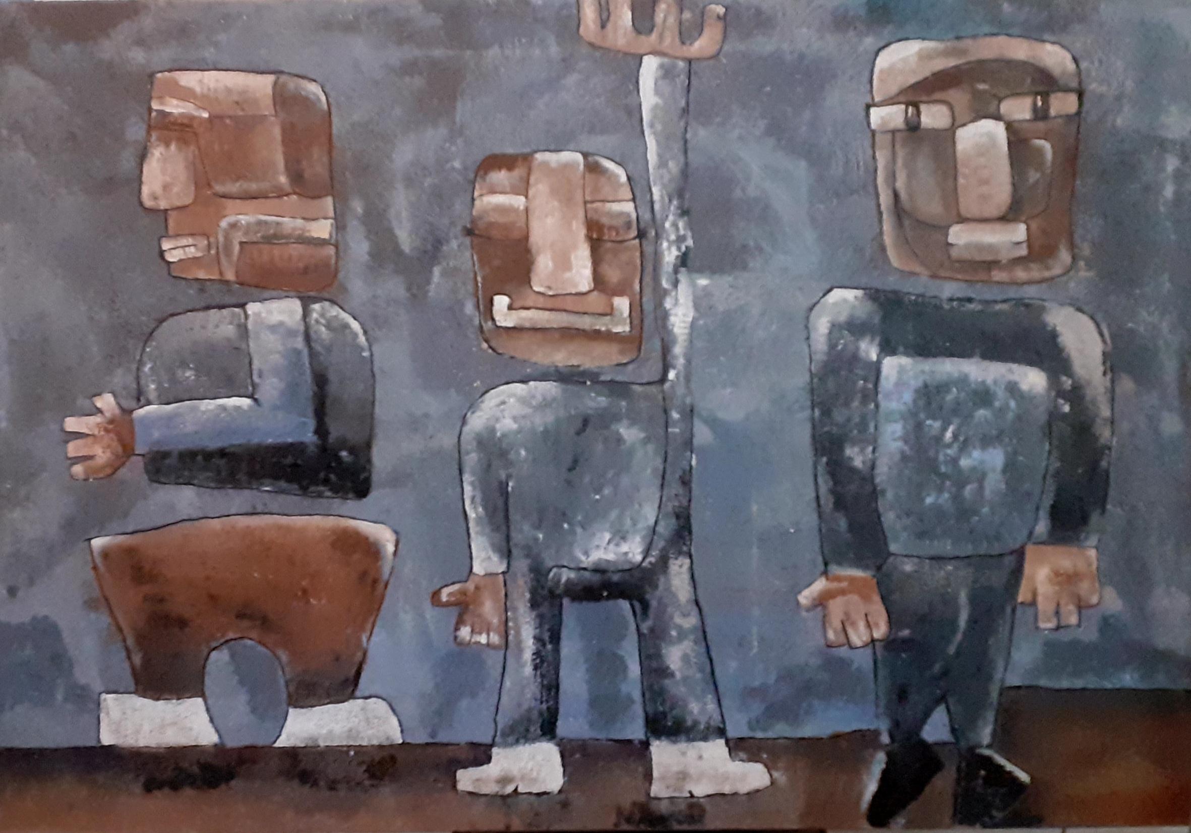 Kunst: It is my turn van kunstenaar Carla Broeckx