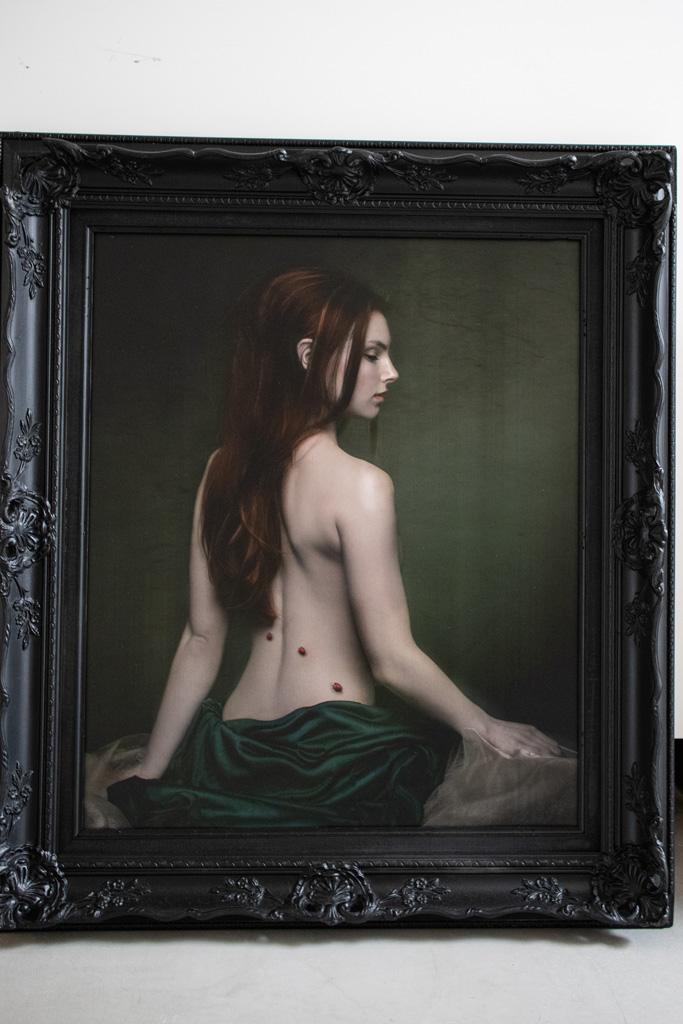 Kunst: Lady Bug van kunstenaar Kaat Stieber