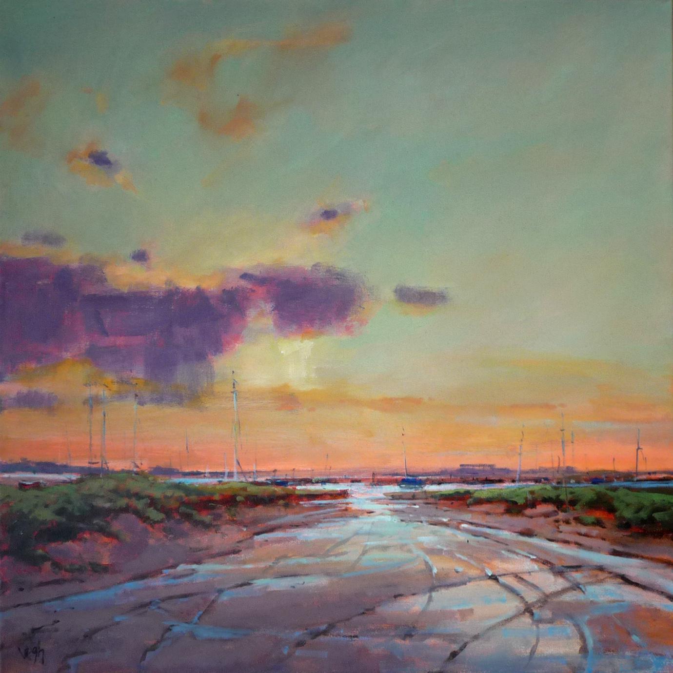 Kunst: ochtendgloren van kunstenaar Cees Vegh