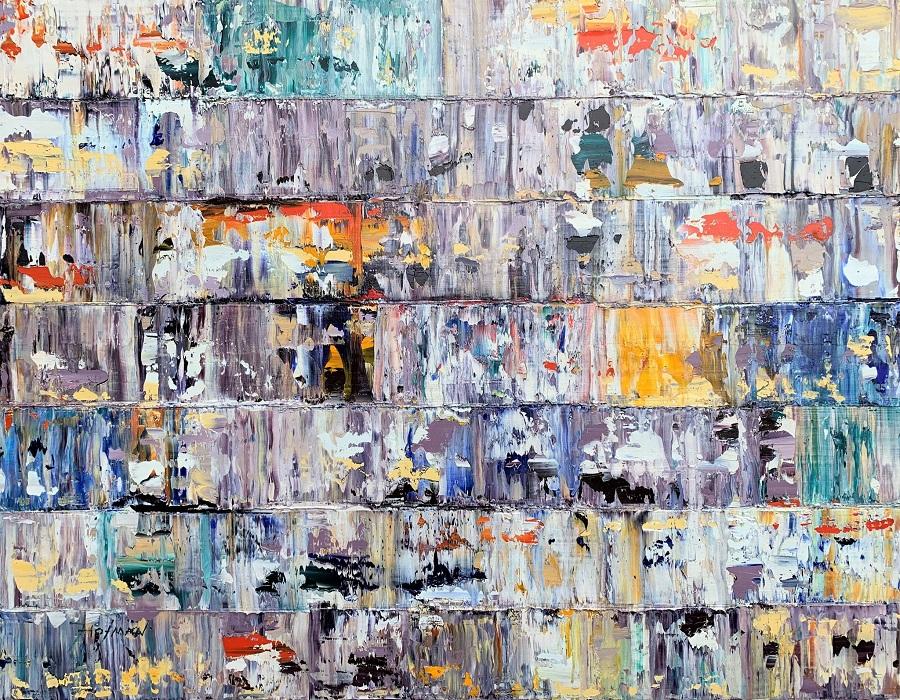 Kunst: Mitiaro, Pacific. van kunstenaar Rinus Hofman